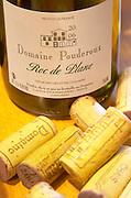 Corks. Roc de Plane. Domaine Pouderoux. Roussillon, France