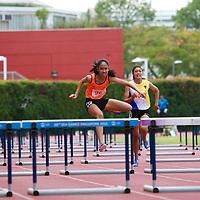 B Div Girls 100m Hurdles