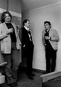 Alan jones with Jake Riviera backstage somewhere.