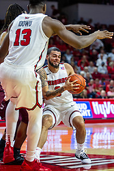 NORMAL, IL - November 10: Ricky Torres during a college basketball game between the ISU Redbirds and the Little Rock Trojans on November 10 2019 at Redbird Arena in Normal, IL. (Photo by Alan Look)