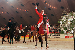 Mathy François Junior, BEL, winnaar Prijs Grand Marnier<br /> Jumping Mechelen 1998<br /> © Hippo Foto - Dirk Caremans<br /> 03/12/2020
