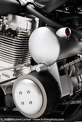 Russell Mitchell's Mad Max, TP 113 ci Engine, built in 2001. Photographed by Michael Lichter in Sturgis, SD. August 1, 2020. ©2020 Michael Lichter