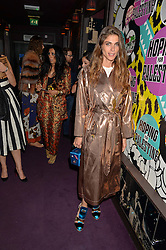 ELISA SEDNAOUI at Hoping's Greatest Hits - the 10th Anniversary of The Hoping Foundation's charity benefit held at Ronnie Scott's, 47 Frith Street, Soho, London on 16th June 2016.