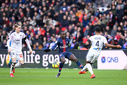 February 9, 2019 - Paris, France - 26 TOMA BASIC (BOR) - 27 MOUSSA DIABY  (Credit Image: © Panoramic via ZUMA Press)