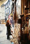 Woman in Edinburg, Scotland