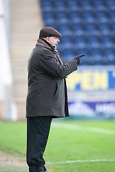 Forfar Athletic's Chris Templeman..Falkirk 4 v 1 Forfar Athletic, Scottish Cup fifth round tie, 2/2/2013. .©Michael Schofield.