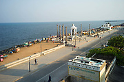The promenade at Pondicherry, India. Pondicherry now Puducherry is a Union Territory of India and was a French territory until 1954 legally on 16 August 1962. The French Quarter of the town retains a strong French influence in terms of architecture and culture.