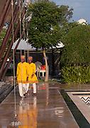 Staff at the Leela Kempinsky Hotel - Udaipur - India 2011