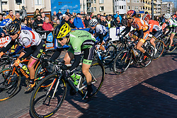 The race is over for the chasing peloton as the kilometres tick by - Ronde van Drenthe 2016, a 138km road race starting and finishing in Hoogeveen, on March 12, 2016 in Drenthe, Netherlands.