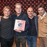 NLD/Hilversum/20191112 - Boekpresentatie Top 2000, Auteurs Leo Blokhuis, Norbert Pek, Arjan Vlakveld, Dirk Jan Roeleven