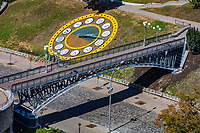 Nebesna Sotnya memorial monument in maidan square Landmark of Kiev Ukraine Europe