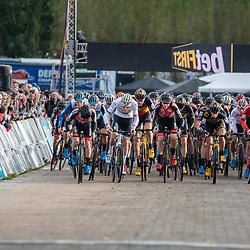 2019-11-03: Cycling: Superprestige: Ruddervoorde: Start of the elite race