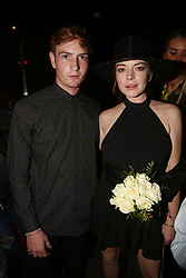 NO WEB NO APPS IN FRANCE UNTIL OCT. 12 - Exclusive - Lindsay Lohan and her brother Cody Lohan attending Virgil Abloh and Black Coffee Party held at the Key Cub in Paris, France on September 27, 2018. Photo by Jerome Domine/ABACAPRESS.COM