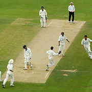 Surrey's Jimmy Ormond gets another wicket as Hampshire slump in their first innings
