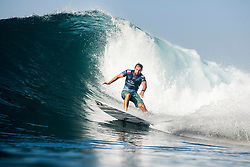 BALI, INDONESIA - MAY 19: Joan Duru of France advances to Round 4 of the 2019 Corona Bali Protected after winning Heat 3 of Round 3 at Keramas on May 19, 2019 in Bali, Indonesia. (Photo by Matt Dunbar/WSL via Getty Images)