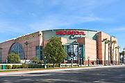 Northwest Entrance of the Honda Center on S. Douglass Road