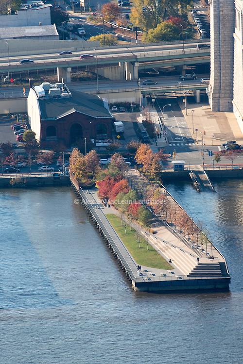 Race Street Pier, Philadelphia, PA, designed by James Corner
