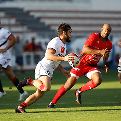 Alexis Palisson of Lyon  during the pre-season match between Rc Toulon and Lyon OU at Felix Mayol Stadium on August 17, 2017 in Toulon, France. (Photo by Guillaume Ruoppolo/Icon Sport)