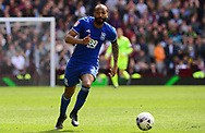 Emilio Nsue of Birmingham city in action.  EFL Skybet championship match, Aston Villa v Birmingham city at Villa Park in Birmingham, The Midlands on Sunday 23rd April 2017.<br /> pic by Bradley Collyer, Andrew Orchard sports photography.