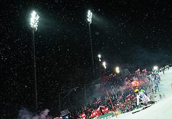 24.01.2012, Planai, Schladming, AUT, FIS Weltcup Ski Alpin, Herren, Slalom 2. Durchgang, im Bild Marcel Hirscher (AUT) // Marcel Hirscher of Austria during the second run of the FIS Alpine Skiing World Cup mens slalom race, Schladming, Austria on 2012/01/24. EXPA Pictures © 2012, PhotoCredit: EXPA/ Sandro Zangrando