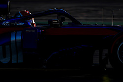 February 18, 2019 - Barcelona, Spain - KVYAT Daniil (rus), Scuderia Toro Rosso Honda STR14, action during Formula 1 winter tests from February 18 to 21, 2019 at Barcelona, Spain - : FIA Formula One World Championship 2019, Test in Barcelona, (Credit Image: © Hoch Zwei via ZUMA Wire)