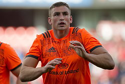 September 9, 2017 - Limerick, Ireland - Tommy O'Donnell of Munster during the Guinness PRO14 rugby match between Munster Rugby and Cheetahs Rugby at Thomond Park in Limerick, Ireland on September 9, 2017  (Credit Image: © Andrew Surma/NurPhoto via ZUMA Press)