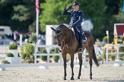 Ostholt Andreas (GER) - So Is Et<br /> Dressage<br /> CCI4*  Luhmuhlen 2014 <br /> © Hippo Foto - Jon Stroud