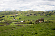 View over Yorkshire Dales national park, near Austwick, England, UK