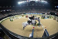 Alvarez Moya Sergio, (ESP), Carlo 273<br /> Longines FEI World Cup™ Jumping Final II<br /> Las Vegas 2015<br />  © Hippo Foto - Dirk Caremans<br /> 18/04/15