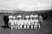 GAA All Ireland Minor Football Final Sligo v. Cork 22nd September 1968 Croke Park..The Sligo Minor team *** Local Caption *** It is important to note that under the COPYRIGHT AND RELATED RIGHTS ACT 2000 the copyright of these photographs are the property of the photographer and they cannot be copied, scanned, reproduced or electronically stored in any form whatsoever without the written permission of the photographer