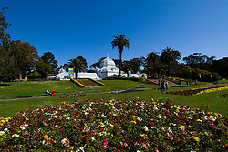 California: San Francisco. Conservatory of Flowers in Golden Gate Park.  Photo copyright Lee Foster. Photo #: 23-casanf78765