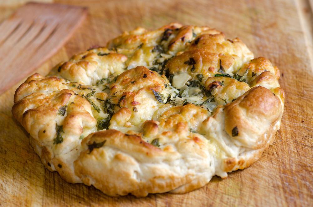 Italian Provolone, Mozzarella And Pecorino Bread