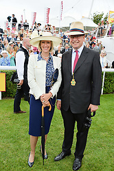 ANGUS & ZARA GORDON LENNOX at day 3 of the Qatar Glorious Goodwood Festival at Goodwood Racecourse, Chechester, West Sussex on 28th July 2016.