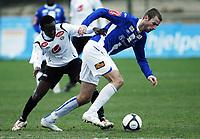 Fotball, 8. mars 2010 , Privatkamp , La Manga<br /> Sogndal - Sarpsborg 08<br /> <br /> Øyvind Hoås , Sarpsborg<br /> Aye Aye Elvis , Sogndal