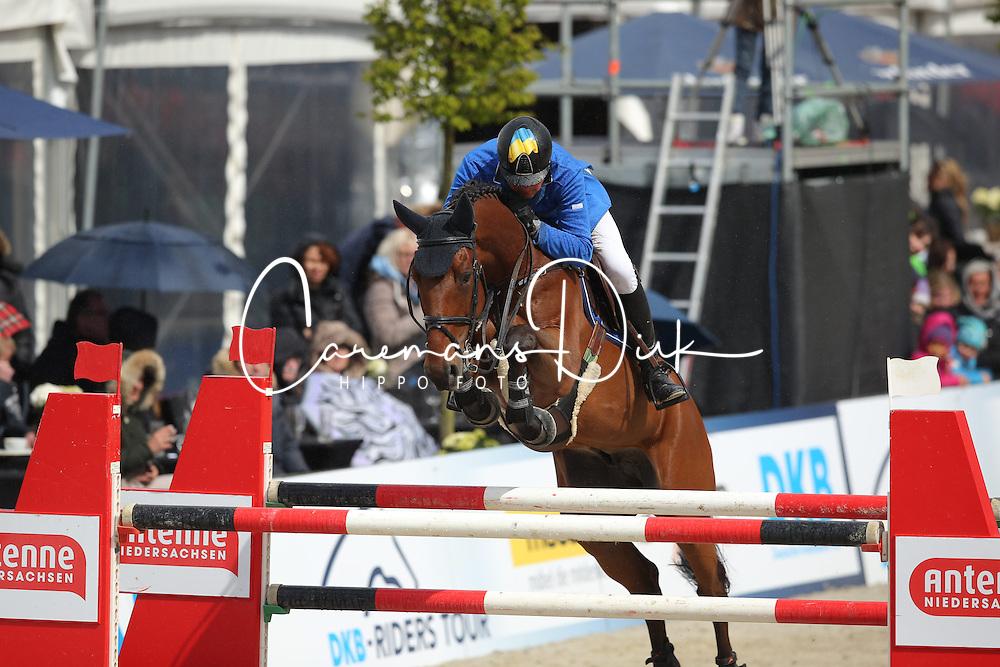Kirchhoff Ulrich, (UKR), Prince de la Mare<br /> CSI4* Grand Prix DKB-Riders Tour<br /> Horses & Dreams meets Denmark - Hagen 2016<br /> © Hippo Foto - Stefan Lafrentz