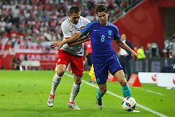 01-06-2016 POL: Polen - Nederland, Gdansk<br /> Oefenwedstrijd dat met 2-1 wordt gewonnen / Artur Jedrzejczyk (POL), Marco van Ginkel (NED)  <br /> <br /> ***NETHERLANDS ONLY***