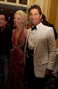 Tamara Beckwith and Giorgio Veroni, British Red Cross Winter Ball, Hilton, 22 November 2003. © Copyright Photograph by Dafydd Jones 66 Stockwell Park Rd. London SW9 0DA Tel 020 7733 0108 www.dafjones.com