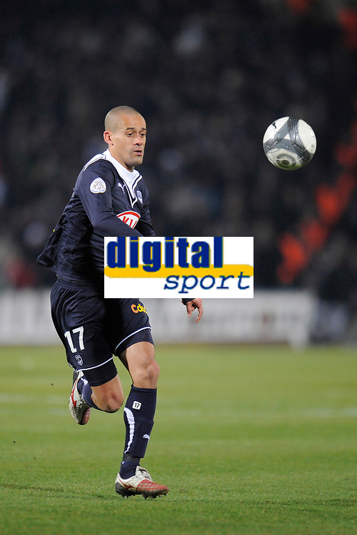 FOOTBALL - FRENCH CHAMPIONSHIP 2009/2010 - L1 - GIRONDINS BORDEAUX v MONTPELLIER HSC - 07/03/2010 - PHOTO JEAN MARIE HERVIO / DPPI - WENDEL (BOR)