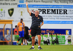 Hull City manager Steve Bruce waves to the fans at full time - Mandatory by-line: Matt McNulty/JMP - 19/07/2016 - FOOTBALL - One Call Stadium - Mansfield, England - Mansfield Town v Hull City - Pre-season friendly