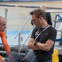 16-03-2019: Wielrennen: WK Paracycling baan; Apeldoorn<br />Timo Franssen en Floris Goesinnen