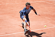 Henri Laaksonen of Switzerland during day 1 of the French Open 2021, a Grand Slam tennis tournament on May 30, 2021 at Roland-Garros stadium in Paris, France - Photo Jean Catuffe / ProSportsImages / DPPI
