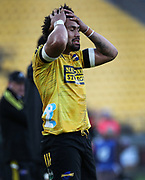 Hurricanes Ardie Savea. Super Rugby Aotearoa. Hurricanes v Crusaders, Sky Stadium, Wellington. Sunday 11th April 2021. Copyright photo: Grant Down / www.photosport.nz