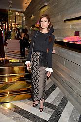 STEPHANIE LA CAVA at the opening of Roksanda - the new Mayfair Store for designer Roksanda Ilincic at 9 Mount Street, London on 10th June 2014.