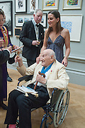 CHLOE MANASSEH; LEONARD MANASSEH, Royal Academy of Arts Annual dinner. Piccadilly. London. 29 May 2012.