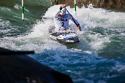 Benjamin SAVSEK (SLO) during Canoe Finals at World Cup Tacen, 18 October 2020, Tacen, Ljubljana Slovenia. Photo by Grega Valancic / Sportida