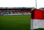 Whaddon Road during the Sky Bet League 2 match between Cheltenham Town and Portsmouth at Whaddon Road, Cheltenham, England on 20 December 2014. Photo by Alan Franklin.