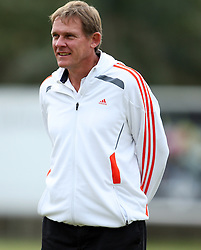 DURBAN, SOUTH AFRICA - JUNE 06, Neil Tovey during the Sharks training session at Mr Price KINGS PARK on June 06, 2011 in Durban, South Africa<br /> Photo by Steve Haag