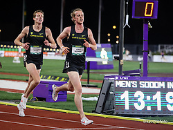 University of Oregon<br /> Oregon Relays track and field meet<br /> April 23-24, 2021 Eugene, Oregon, USA<br /> 5000, Oregon