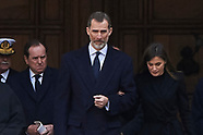 040318 Spanish Royals attend Mass commemorating the 25th anniversary of the death of Juan of Borbon