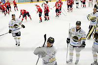 Ishockey , GET-Ligaen , Eliteserien <br /> Tirsdag 17. November 2015, 20151117<br /> Lørenskog Hockey - Stavanger Oilers<br /> Oilers går av isen etter tap <br /> Foto: Sjur Stølen / Digitalsport